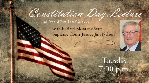 Constitution Day: Justice Jim Nelson graphic