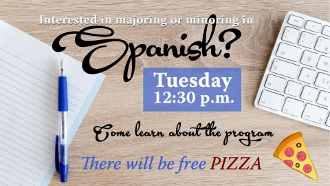 Spanish Program Info Session graphic