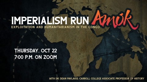 Lecture: Imperialism Run Amok graphic