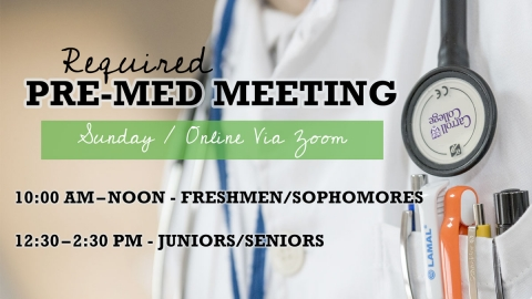 Required Pre-Med Meeting Graphic