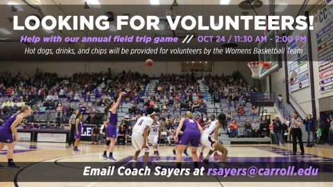 Volunteer for Field Trip Day Image