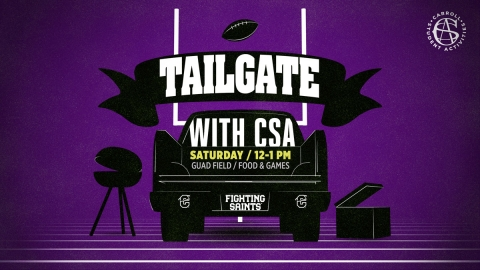 Tailgate with CSA Graphic