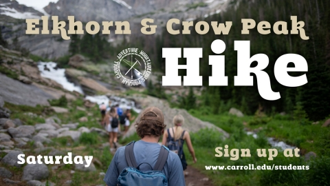 Elkhorn and Crow Peak Hike graphic