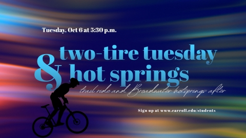 Two Tire Tuesday and Hot Springs Graphic