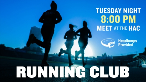 Running Club graphic
