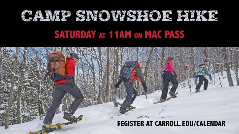 Snowshoe Hike graphic