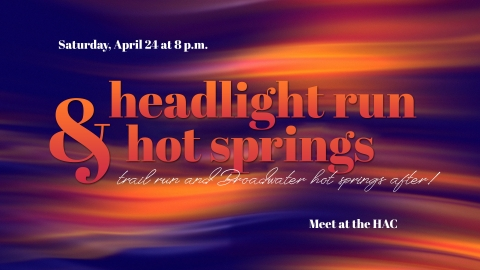 Headlight Run & Hot Springs graphic