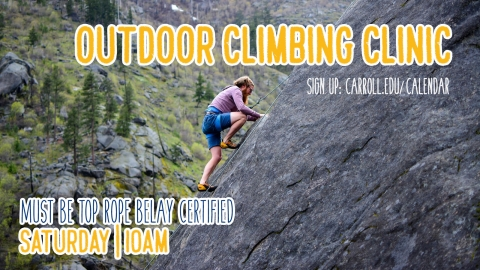 Outdoor Climbing Clinic graphic