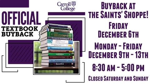 Bookstore Buyback graphic