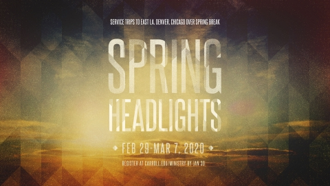 Spring Headlights graphic