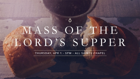 Mass of the Lord's Supper graphic