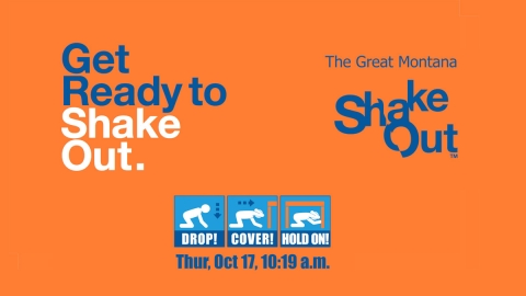 ShakeOut Earthquake Drill graphic