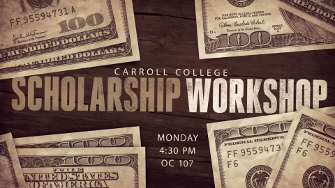 Scholarship Workshop Graphic