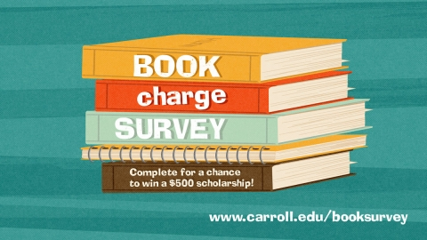 Book Charge Survey graphic
