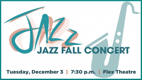 Jazz Fall concert graphic