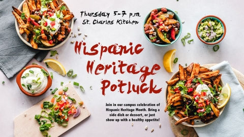 Hispanic Heritage Potluck graphic