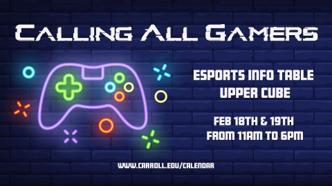 ESports Info Table Graphic