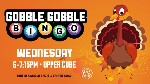 Gobble Gobble Bingo Graphic