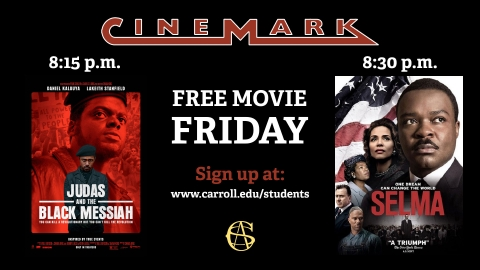 Free Cinemark Friday graphic