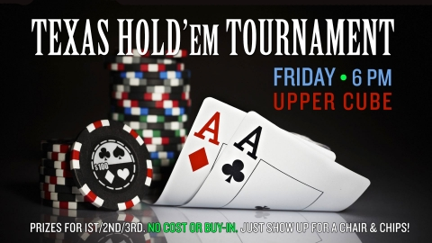 Texas Holdem Tournament graphic