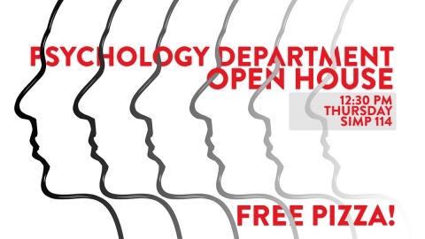 Graphic for Psych Open House