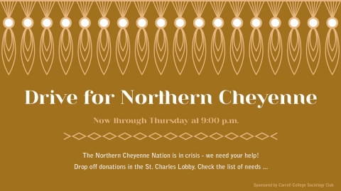 Drive for Northern Cheyenne graphic