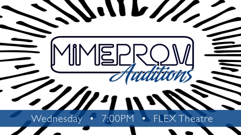 Mimeprov Comedy Auditions graphic