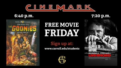 Free Movie Friday graphic