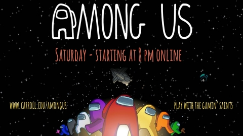 Gaming Club: Among Us graphic