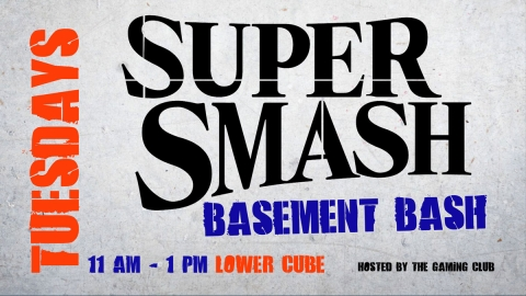 Super Smash Basement Bash graphic