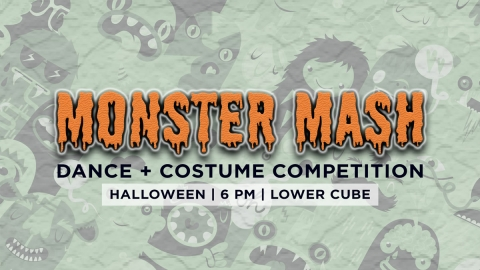 Graphic for Monster Mash Dance and Costume Competition