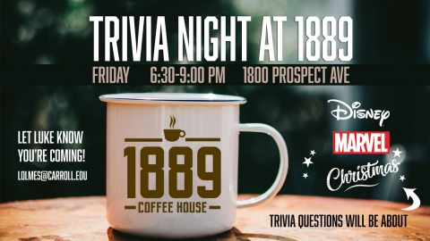 1889 Trivia Night graphic