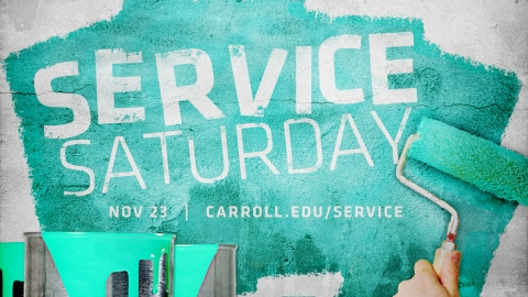 Service Saturday graphic
