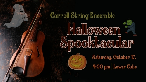 String Ensemble Halloween Concert graphic