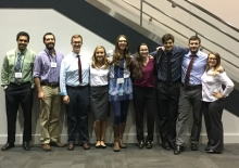 Students presented their research at the Murdock College Undergraduate Research Conference in Spokane, WA.