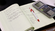 Chemistry Student Notebook and Calculator