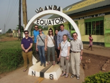 EWB Team poses for a photograph in Uganda