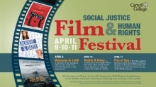 Social Justice Human Rights Film Festival graphic