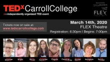 TEDx Carroll College Graphic