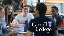 Carroll Student Studying Together