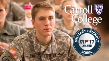 Carroll ROTC Students in Class