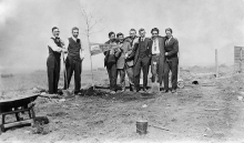 Old Image of early Carroll College Founders