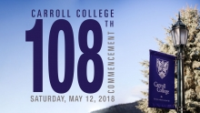 Carroll College 108th Graduation Graphic