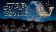 Star Wars Symphony Under the Stars graphic