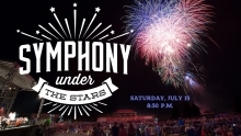 Fireworks in the Sky at the Symphony Under the Stars