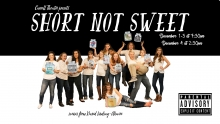 Graphic for Carroll College Theatre Presents 'Short NOT Sweet'