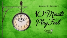 Carroll Theatre presents 10-minute Play Festival graphic
