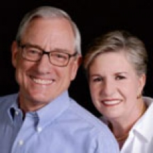 Portrait of Ray and Elaine Messer